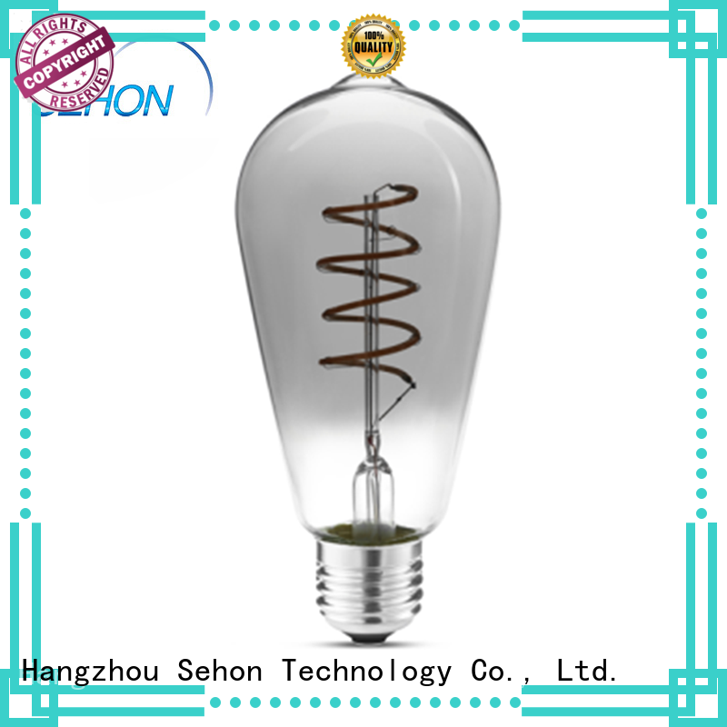 Sehon edison bulb lifespan factory used in bedrooms
