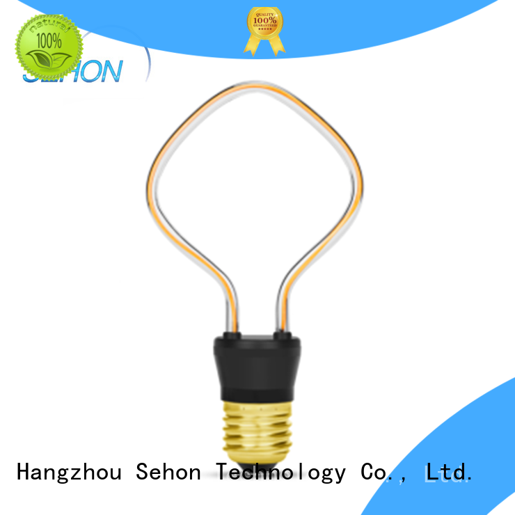 Sehon e27 vintage led bulb Suppliers used in bathrooms