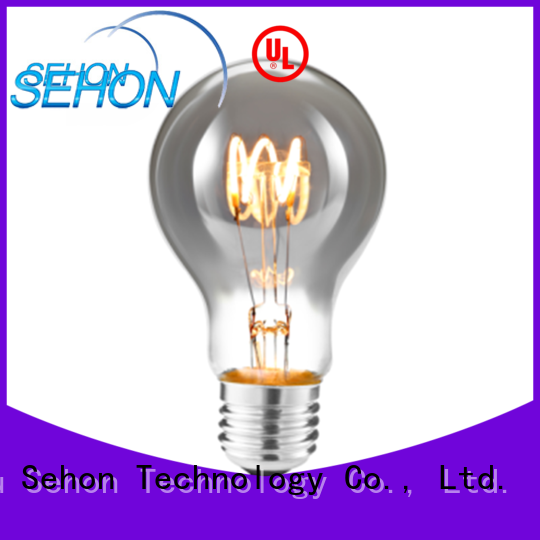 Sehon Custom 800 lumen edison bulb factory for home decoration