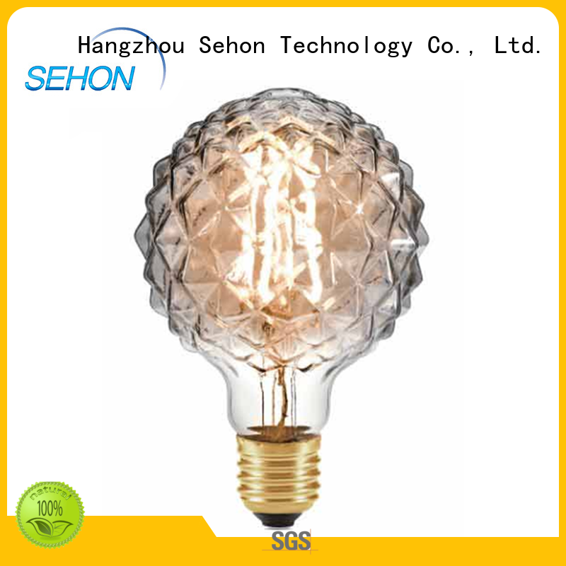 Sehon Custom led filament led Supply used in living rooms