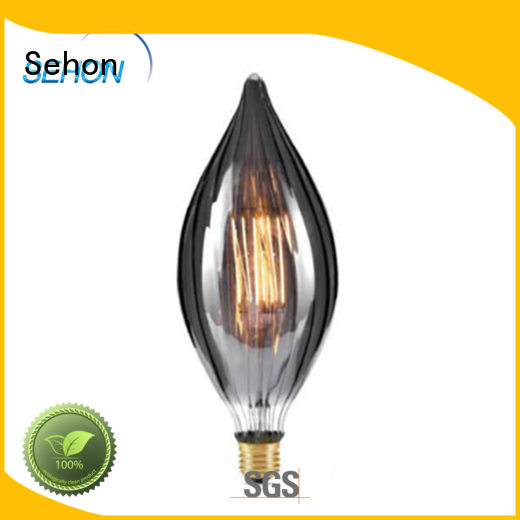 Sehon round edison bulbs for business used in bathrooms