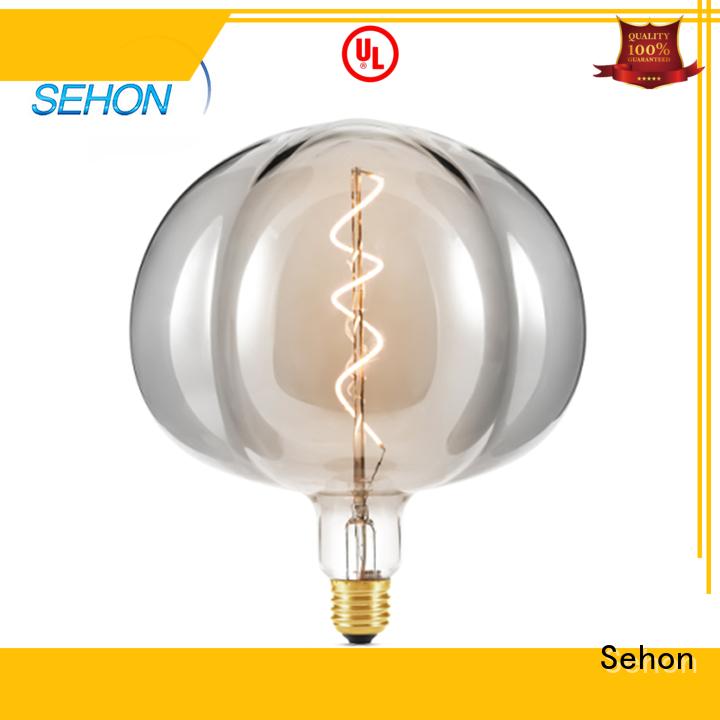 Sehon Custom cool filament light bulbs factory used in bathrooms
