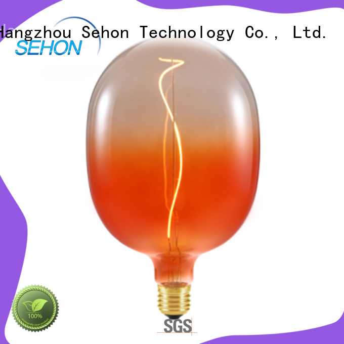 Sehon vintage edison filament bulbs for business used in bathrooms