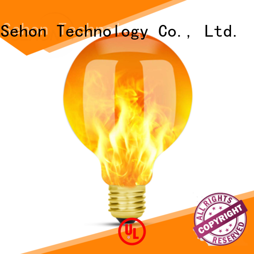 Sehon Wholesale led candle light bulbs 60w manufacturers for home decoration