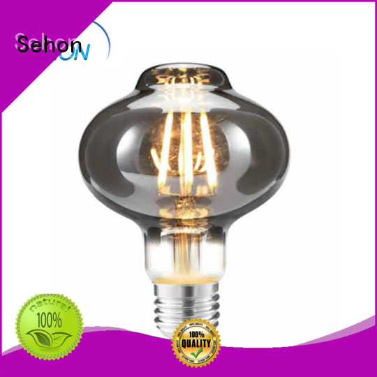 Sehon glass led bulb company used in bedrooms