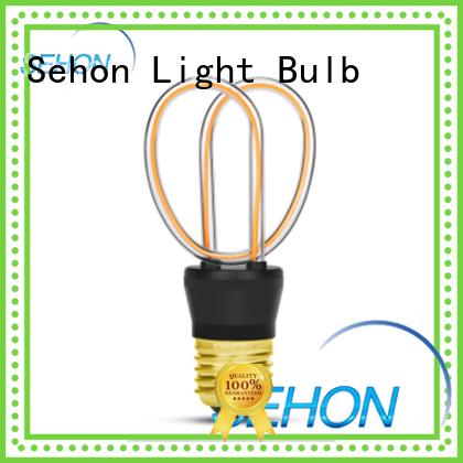 Custom led filament e27 factory for home decoration