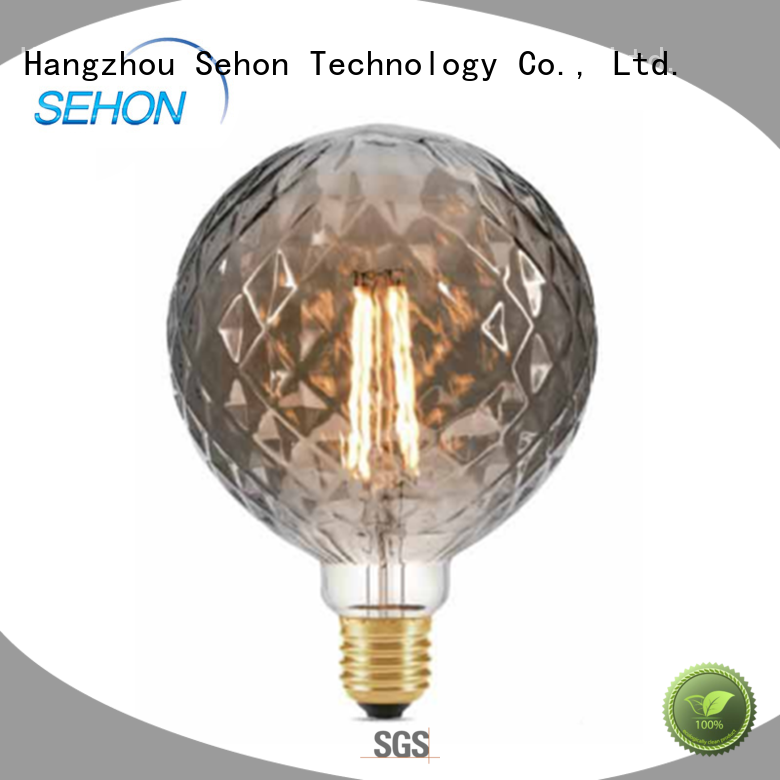 New led filament bulb manufacturer company used in bathrooms