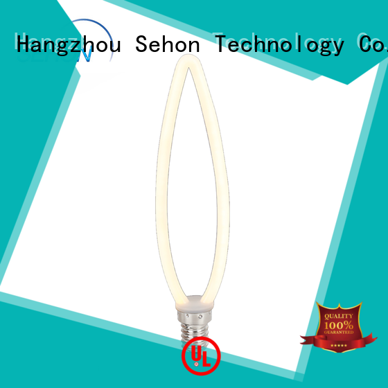 Sehon edison style led filament bulbs Suppliers used in bathrooms