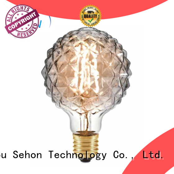 Sehon long filament led Supply used in bedrooms