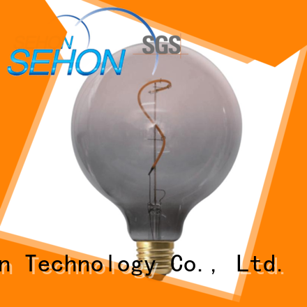 Sehon clear glass led light bulbs factory used in bedrooms