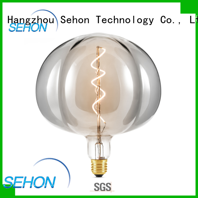 Sehon Custom filament style light bulb Suppliers used in bathrooms