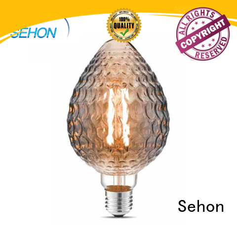 Sehon led filament bulb manufacturer for business used in bedrooms