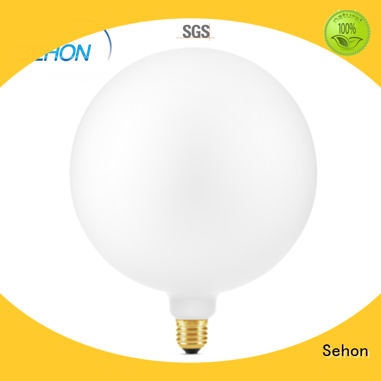 Sehon filament style led bulb Supply used in bedrooms