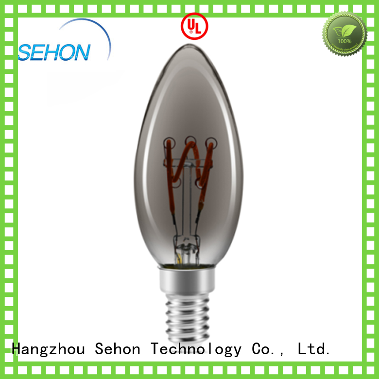 Sehon Latest decorative filament lamps for business used in bathrooms