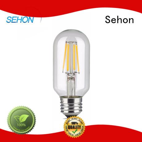 Sehon led filament bulb e27 company used in bathrooms