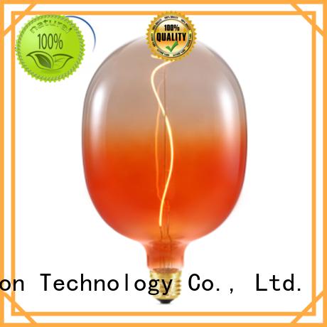 Custom 75 watt edison bulb for business used in bathrooms